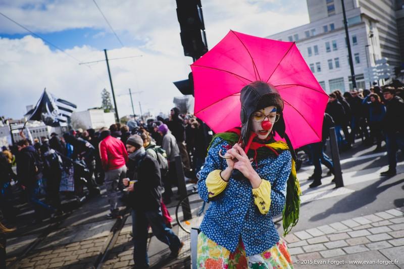 Émeutes de Nantes 22 février 2015 - Evan Forget - Photographe