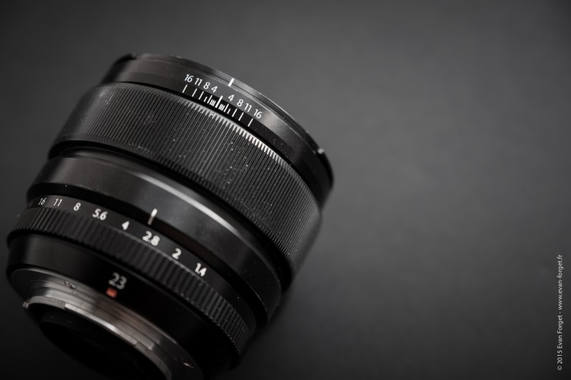 Test 23mm f-1.4 Fujifilm par Evan Forget pour Studio Raw-2