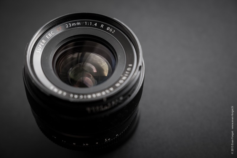 Test 23mm f-1.4 Fujifilm par Evan Forget pour Studio Raw