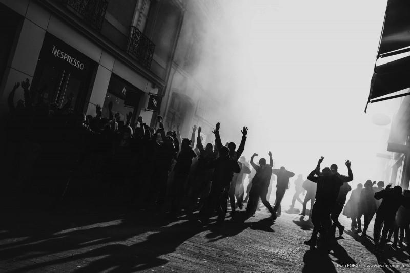Arrestation / Nantes - Avril 2016