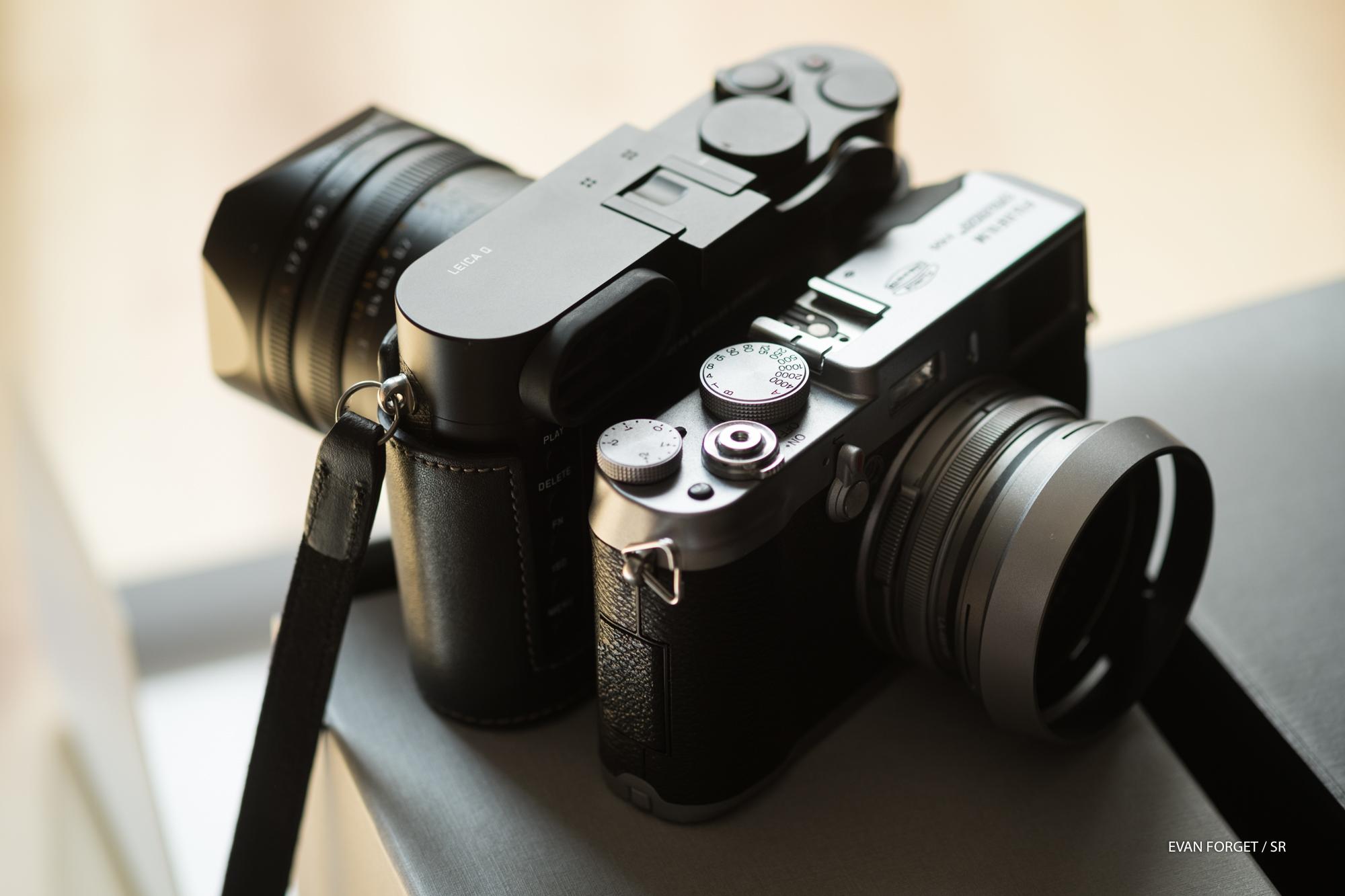 Leica Q / Fuji x100